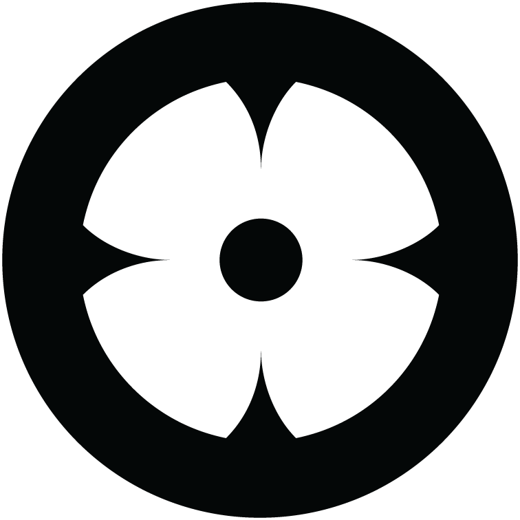 Black Zcash Blossom icon