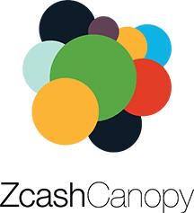 Full color Zcash Canopy logo